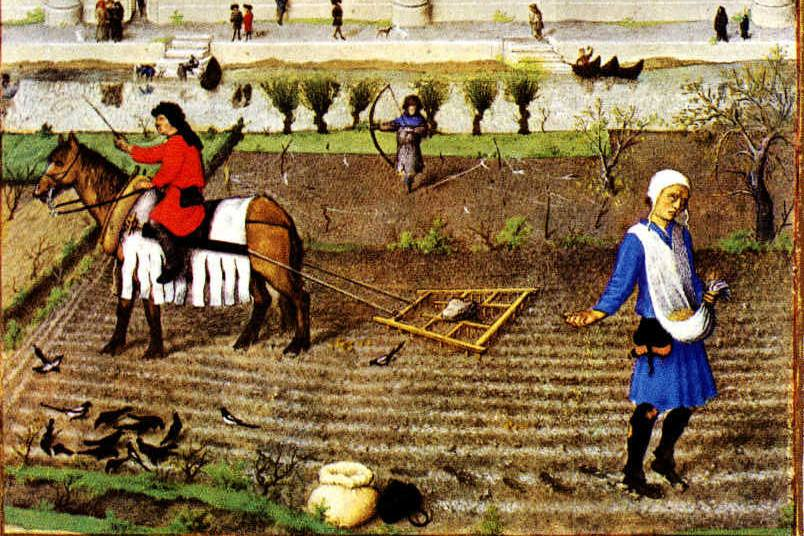 Medieval Crop Rotation