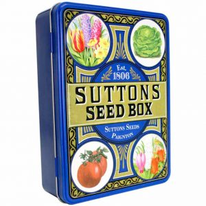 Suttons Seed Storage Tin
