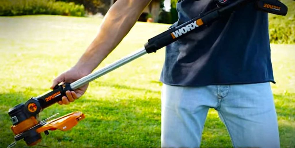 WORX WG169E.5 20 V 2 A Cordless Lithium-Ion Grass Trimmer