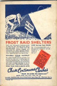 Chase Wartime Advert for Cloches