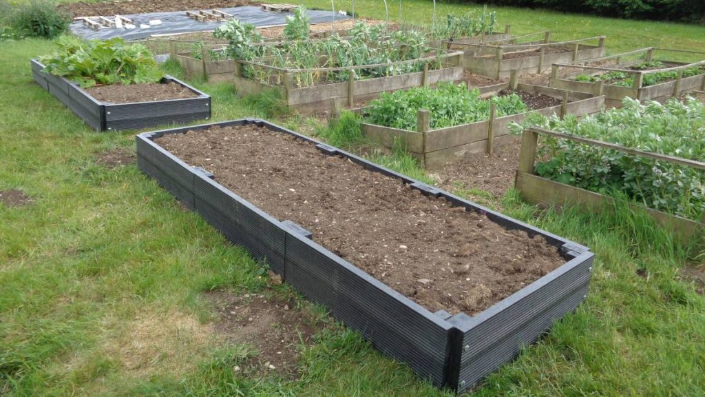 Recycled Plastic Raised Beds