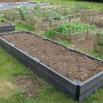 Recycled Plastic Raised Beds & Bench